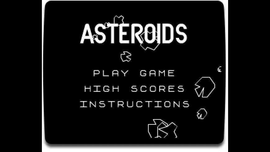 Asteroids Widget for Mac - review, screenshots
