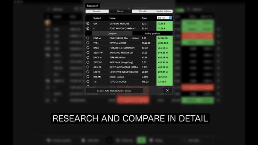 Market Junkie for Mac - review, screenshots