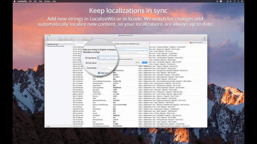 LocalizeWiz for Mac - review, screenshots