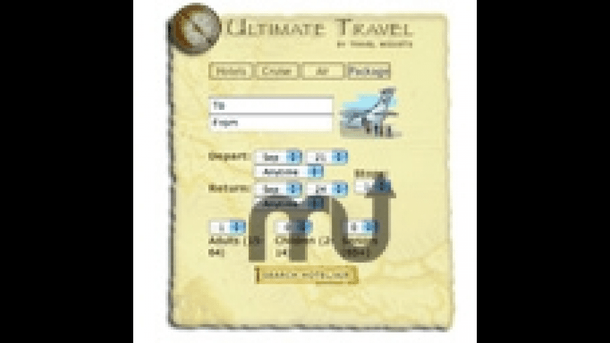Ultimate Travel Widget for Mac - review, screenshots