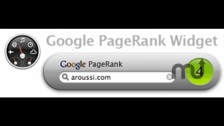 Google PageRank for Mac - review, screenshots