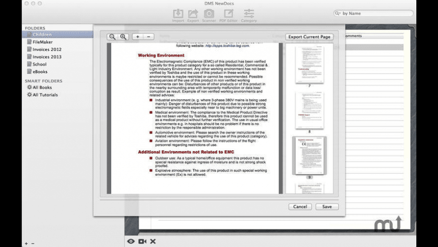 DMS NewDocs for Mac - review, screenshots