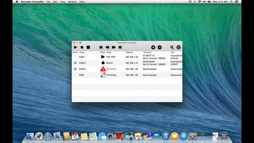 Recorder Controller for Mac - review, screenshots