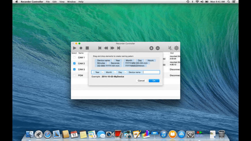 Recorder Controller for Mac - review, screenshots