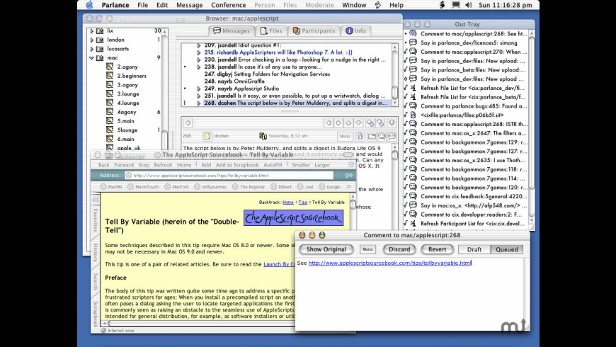 Parlance for Mac - review, screenshots