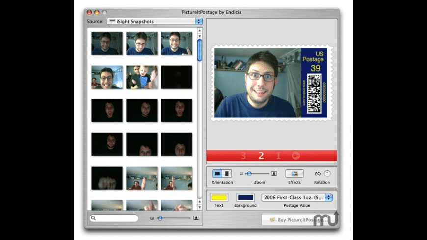 PictureItPostage for Mac - review, screenshots