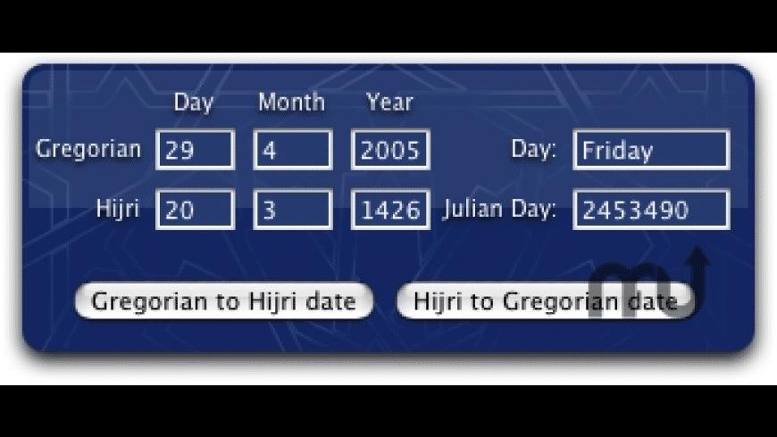 Date Converter for Mac - review, screenshots