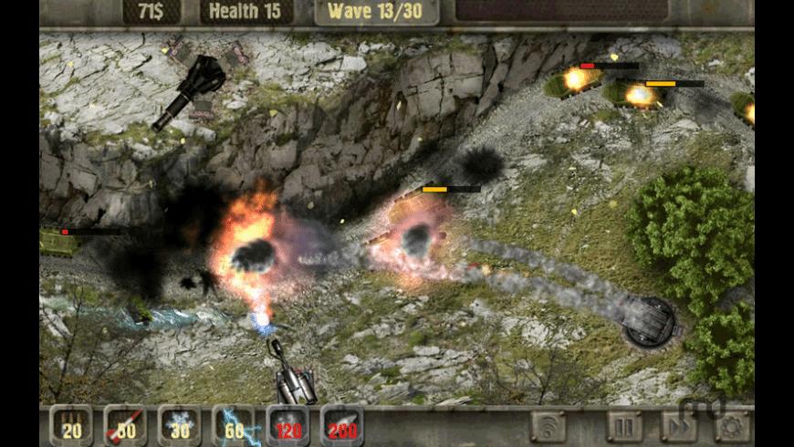 Defense Zone for Mac - review, screenshots