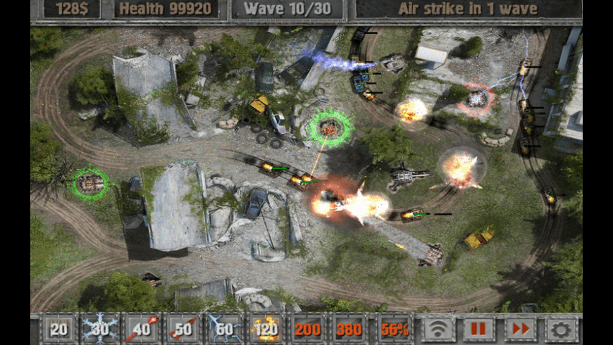 Defense Zone 2 for Mac - review, screenshots