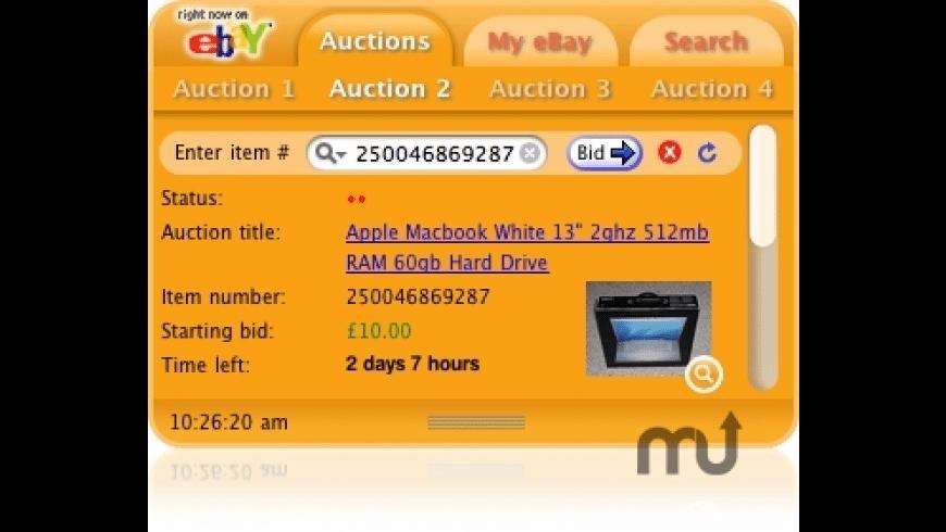 eBay Watcher for Mac - review, screenshots
