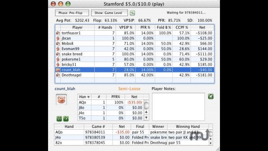 MacPoker Pro for Mac - review, screenshots