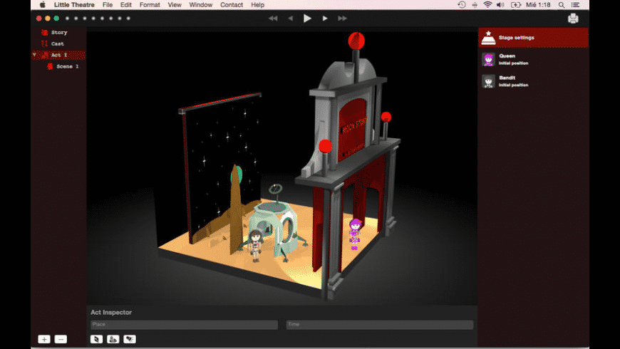 Little Theatre for Mac - review, screenshots