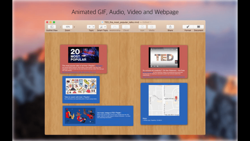 MindPreview for Mac - review, screenshots