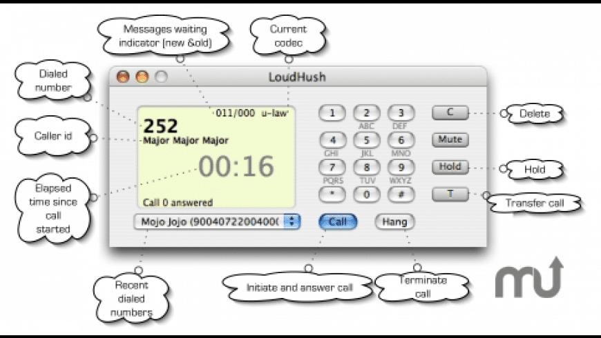 LoudHush for Mac - review, screenshots