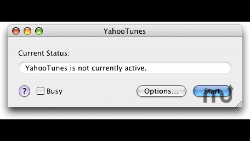 YahooTunes for Mac - review, screenshots
