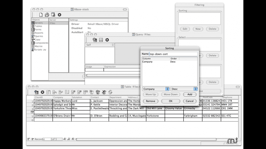 rekall for Mac - review, screenshots