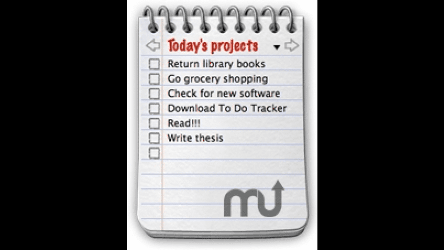To Do Tracker for Mac - review, screenshots