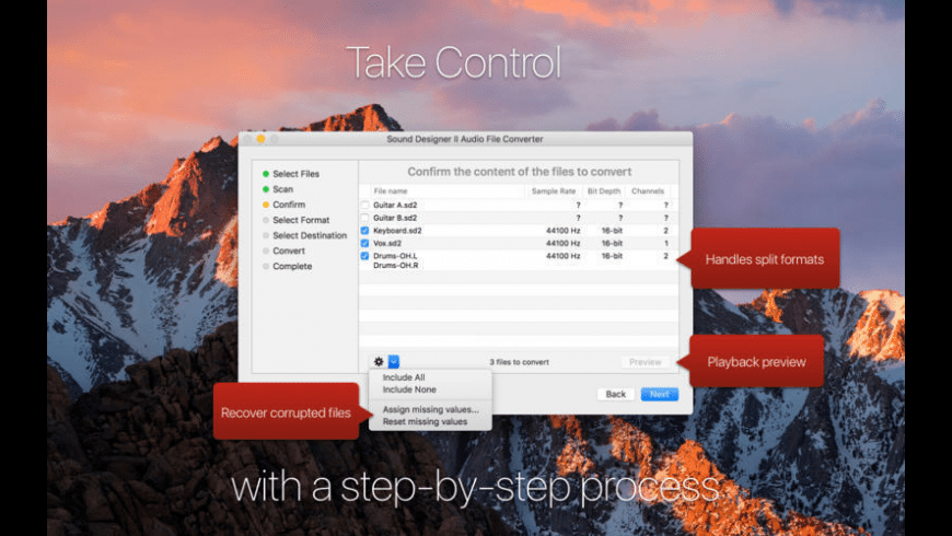 Audaptor for Mac - review, screenshots