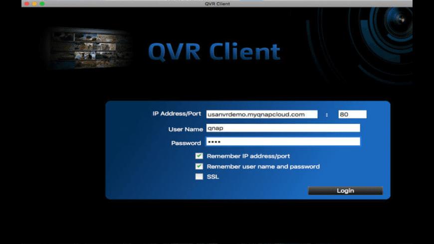 QVR Client for Mac - review, screenshots