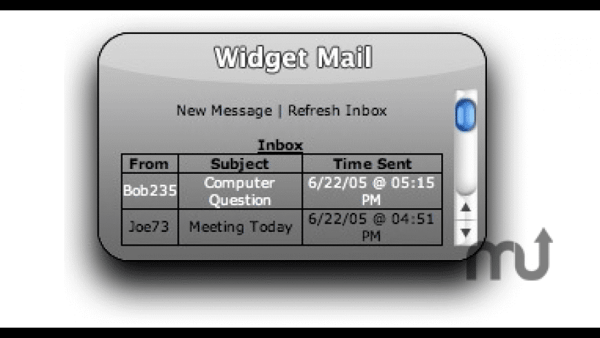 Widget Mail for Mac - review, screenshots