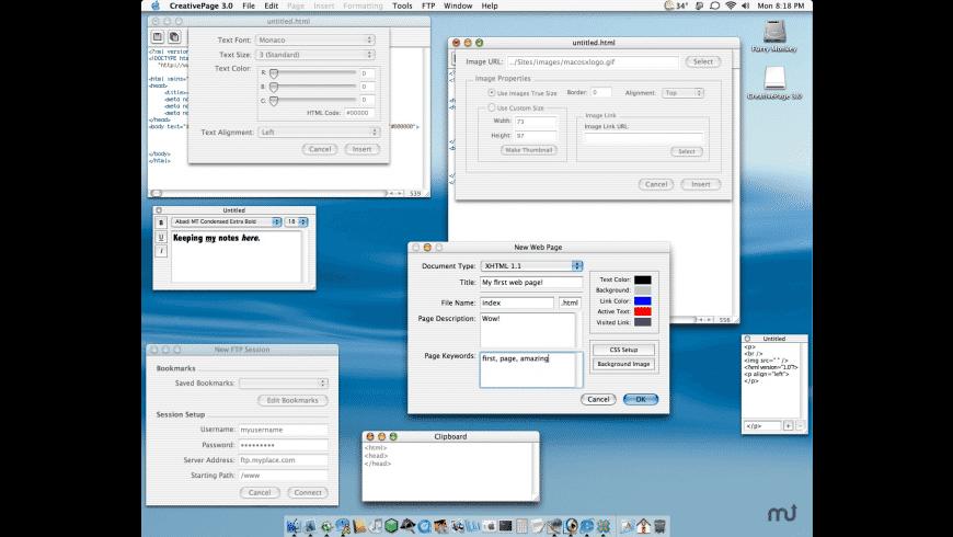 CreativePage for Mac - review, screenshots