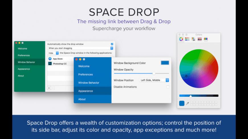 Space Drop for Mac - review, screenshots