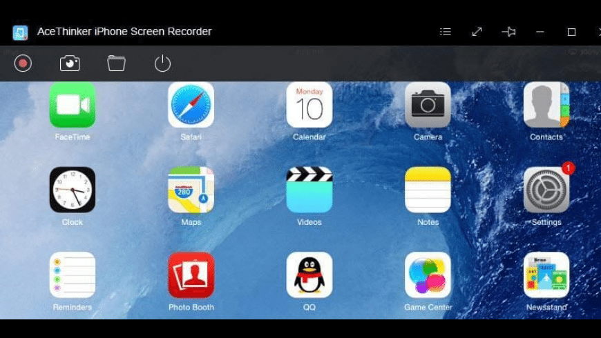 AceThinker iPhone Screen Recorder for Mac - review, screenshots