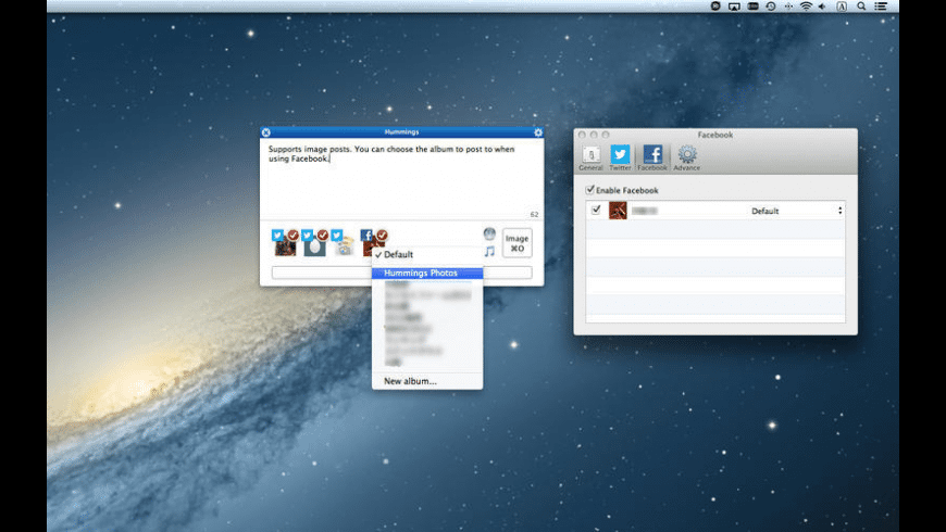 Hummings for Mac - review, screenshots