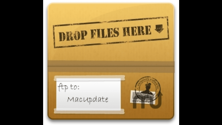 FTP Drop for Mac - review, screenshots