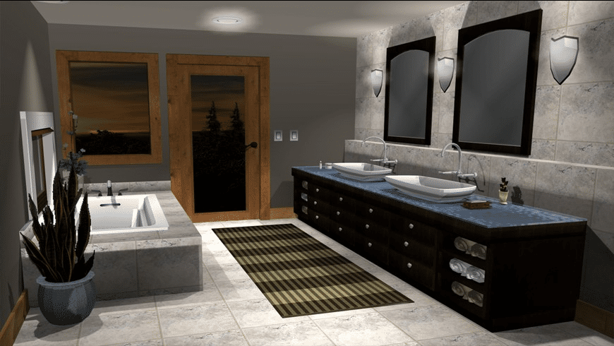TurboFloorPlan 3D Home & Landscape Pro 2017 for Mac - review, screenshots