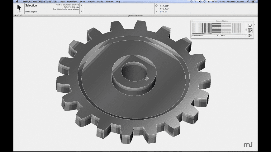 TurboCAD Mac Deluxe for Mac - review, screenshots