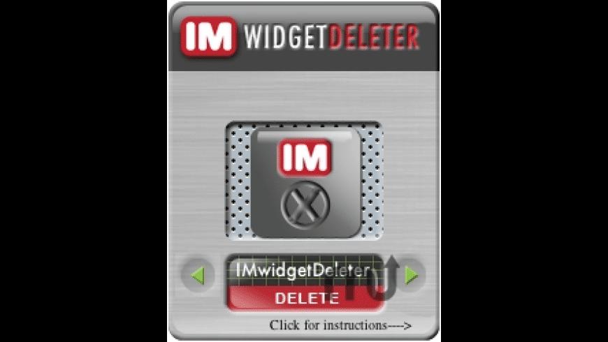 ImageryMedia widgetDeleter for Mac - review, screenshots