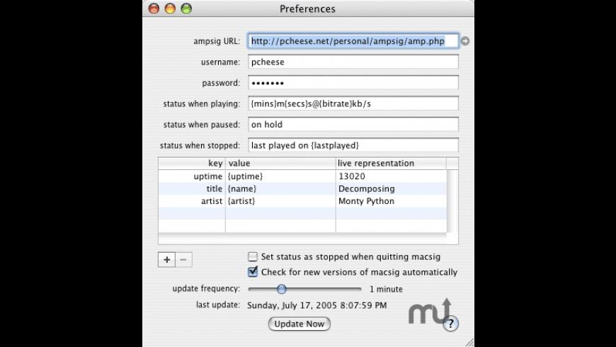 macsig for Mac - review, screenshots