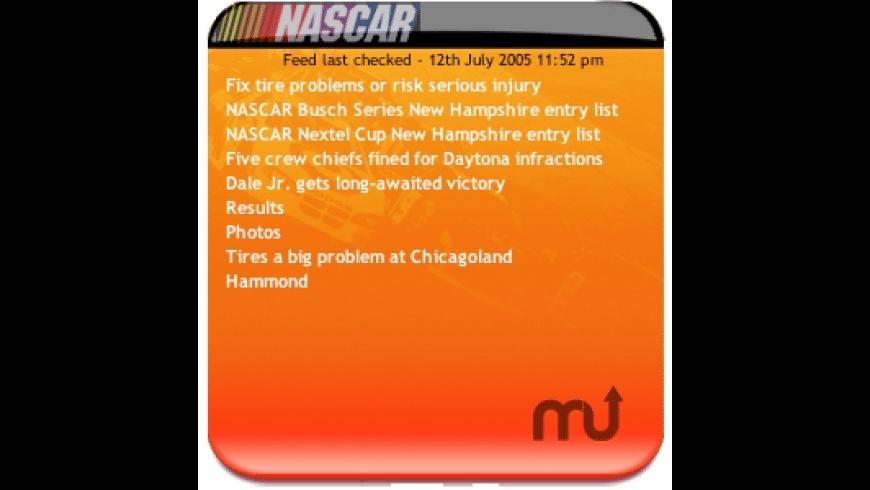 Nascar News for Mac - review, screenshots