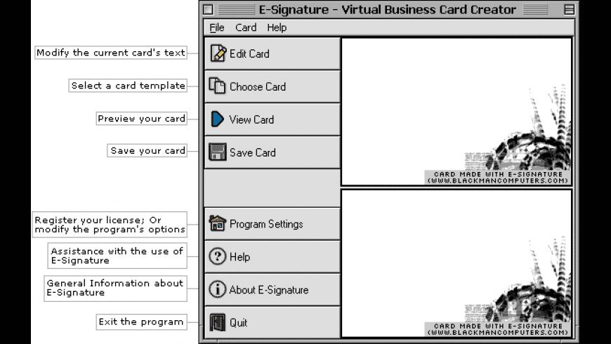 E-signature for Mac - review, screenshots