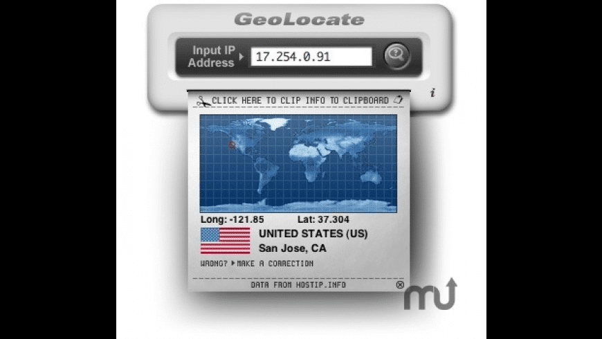 GeoLocate for Mac - review, screenshots