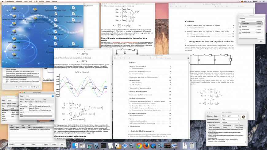 Cassiopeia for Mac - review, screenshots