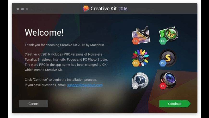 Creative Kit for Mac - review, screenshots