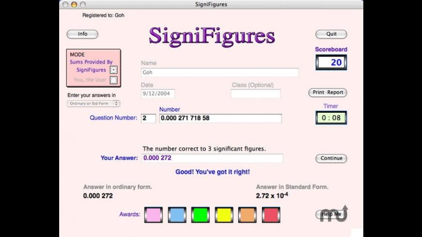 SigniFigures for Mac - review, screenshots