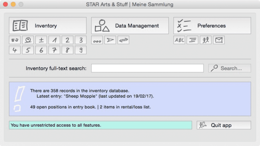 STAR Arts & Stuff for Mac - review, screenshots