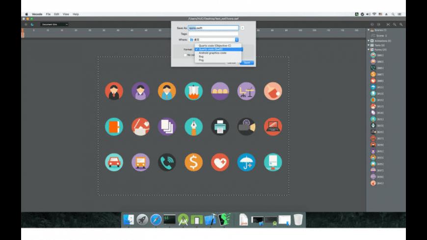 Vecode for Mac - review, screenshots