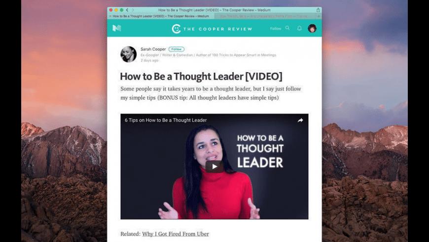 Mediunic for Mac - review, screenshots