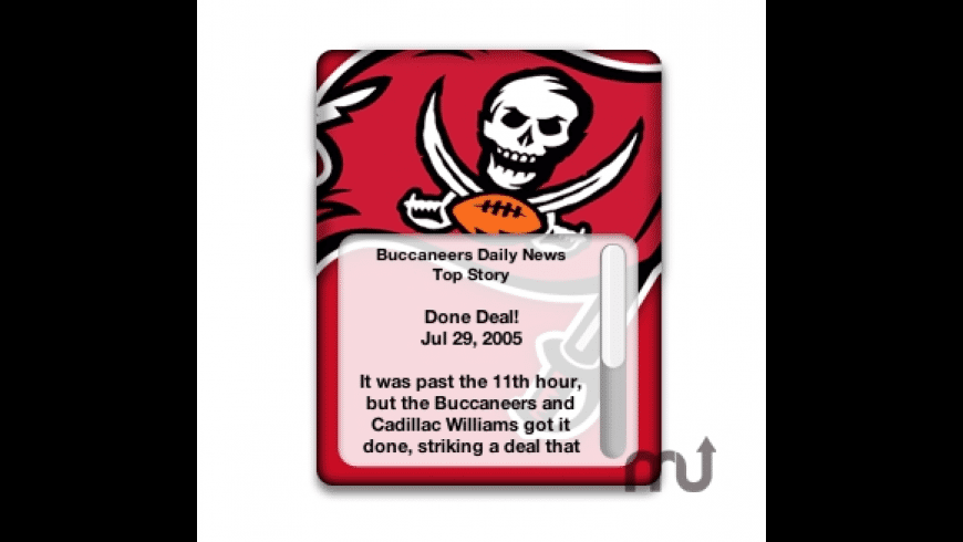 Tampa Bay Buccaneers Official Daily News for Mac - review, screenshots
