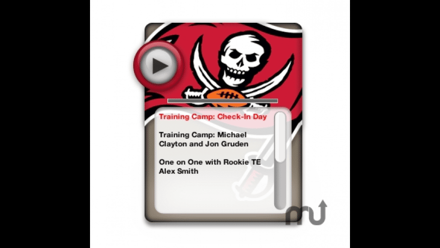 Tampa Bay Buccaneers Official Multimedia Network for Mac - review, screenshots