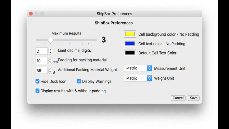 ShipBox for Mac - review, screenshots