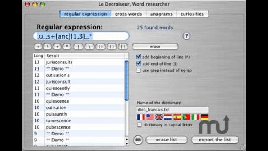 Le Decroiseur for Mac - review, screenshots