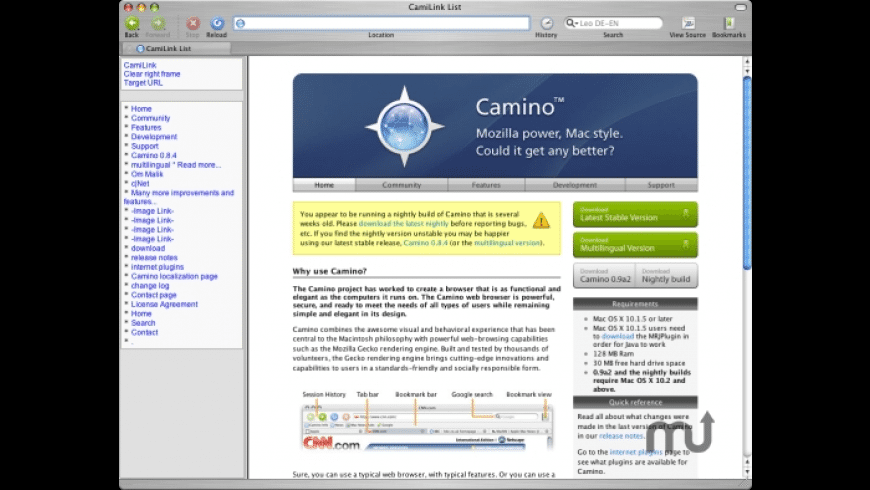 CamiLink for Mac - review, screenshots