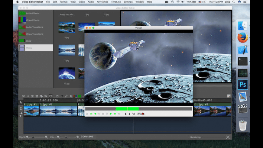 Video Editor Robot for Mac - review, screenshots
