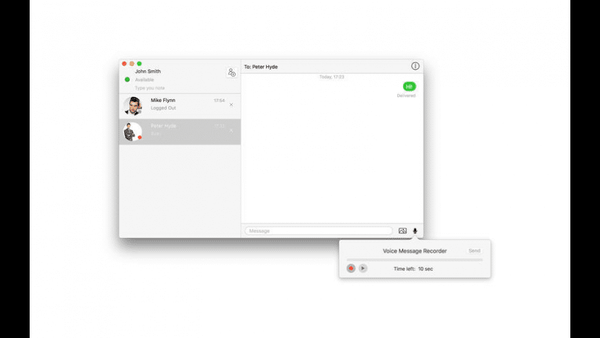 Message Track for Mac - review, screenshots