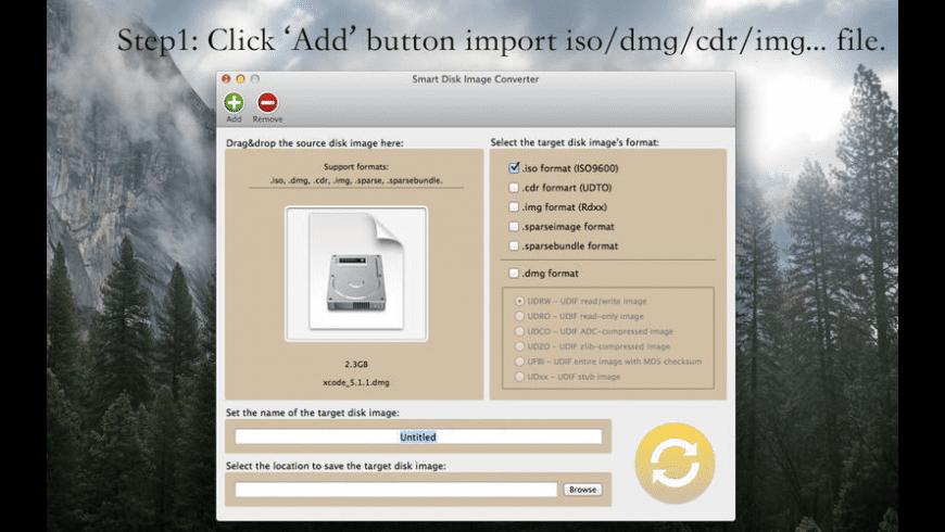 Smart Disk Image Converter for Mac - review, screenshots